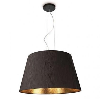 Nábytek Mambo - Stropní osvětlení E 27, 60cm (černá)