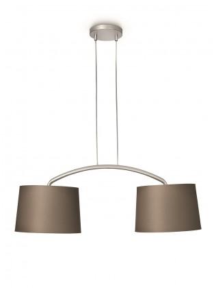 Nábytek Mambo - Stropní osvětlení E 27, 90,5cm (hnědá)