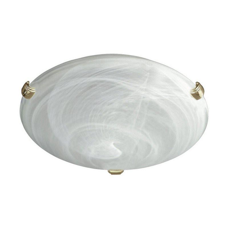 Nábytek Mambo - Stropní osvětlení E27, 30cm (matovaná bílá)