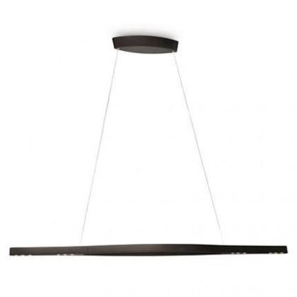 Nábytek Mambo - Stropní osvětlení LED, 116cm (černá)