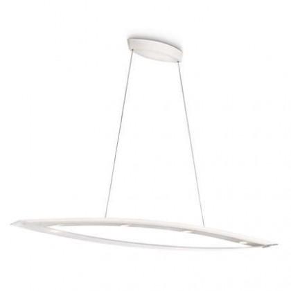 Nábytek Mambo - Stropní osvětlení LED, 130,3cm (bíla)