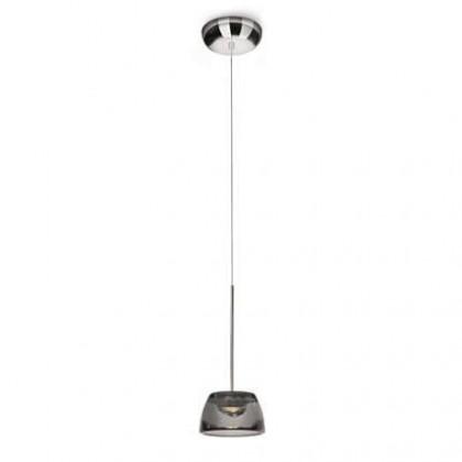 Nábytek Mambo - Stropní osvětlení LED, 14cm (lesklý chrom)