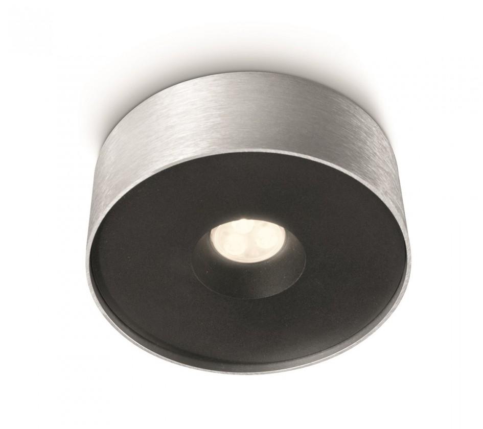 Nábytek Mambo - Stropní osvětlení LED, 15,8cm (hliník)