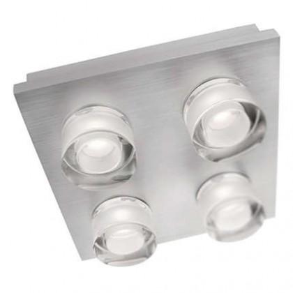 Nábytek Mambo - Stropní osvětlení LED, 18cm (hliník)