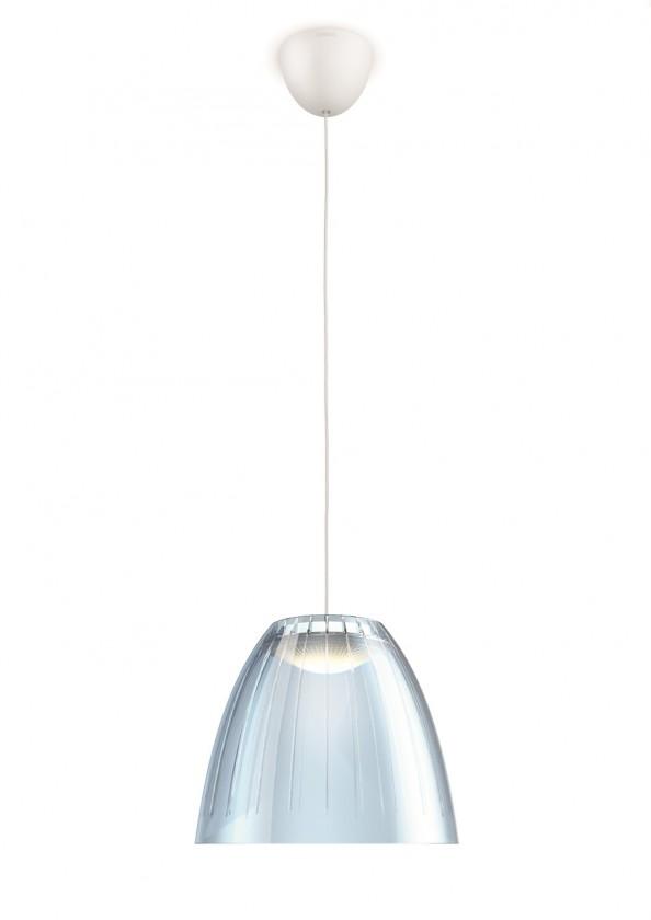 Nábytek Mambo - Stropní osvětlení LED, 21,9cm (modrá)
