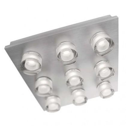 Nábytek Mambo - Stropní osvětlení LED, 28,1cm (hliník)