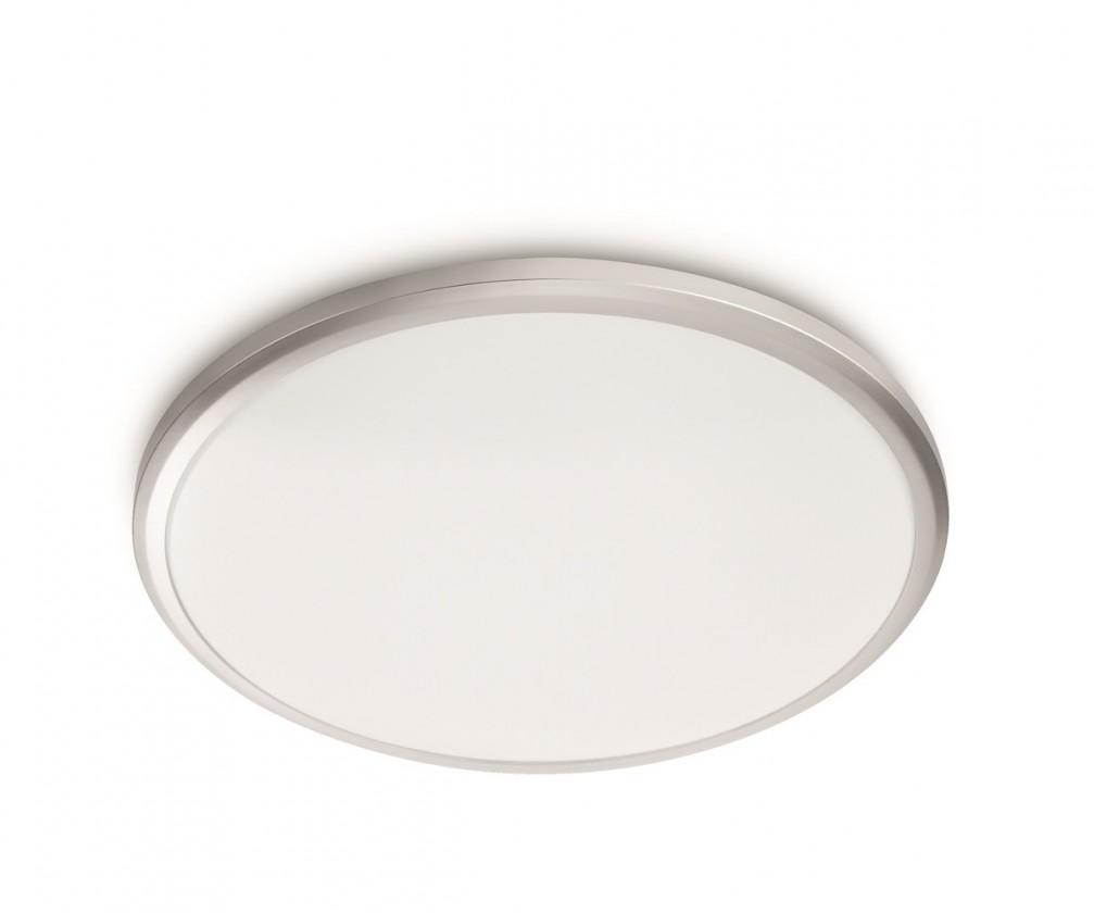Nábytek Mambo - Stropní osvětlení LED, 29cm (bílá, šedá)