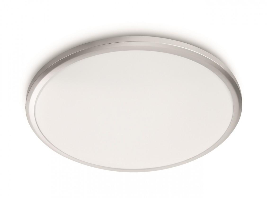 Nábytek Mambo - Stropní osvětlení LED, 29x6,6x29 (bílá, šedá)