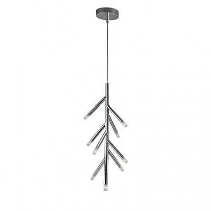 Nábytek Mambo - Stropní osvětlení LED, 34,7cm (lesklý chrom)
