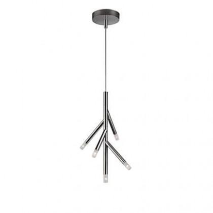 Nábytek Mambo - Stropní osvětlení LED, 34,7x250x9,5 (lesklý chrom)
