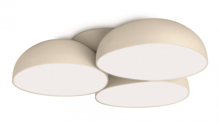 Nábytek Mambo - Stropní osvětlení LED, 44,4cm (krémová)
