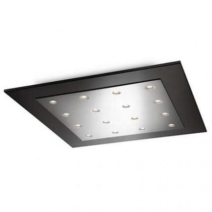 Nábytek Mambo - Stropní osvětlení LED, 46cm (lesklý chrom)
