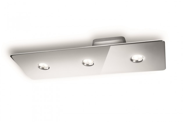 Nábytek Mambo - Stropní osvětlení LED, 49cm (lesklý chrom)