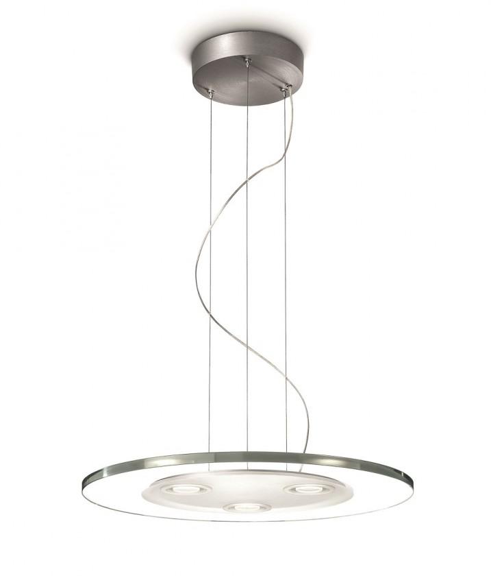 Nábytek Mambo - Stropní osvětlení LED, 50cm (hliník)