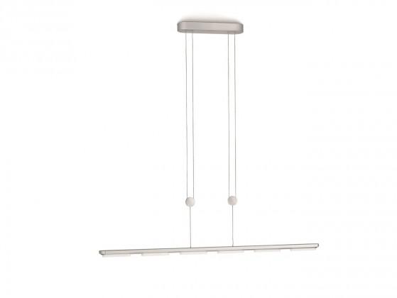 Nábytek Mambo - Stropní osvětlení LED, 92,8cm (hliník)
