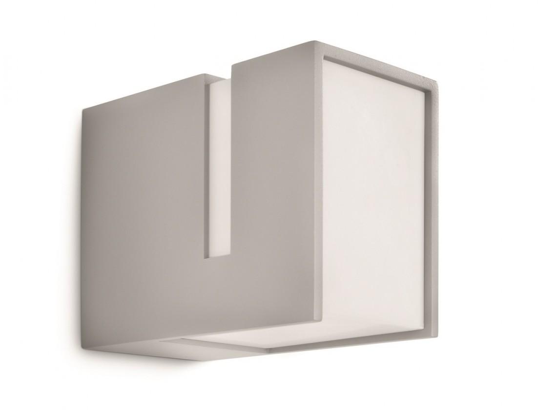 Nábytek Mano - Venkovní osvětlení E 27, 10,1cm (šedá)