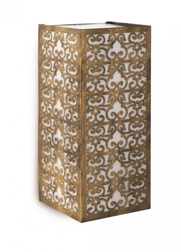 Nábytek Mano - Venkovní osvětlení E 27, 12cm (hnědá s bronzovou patinou)
