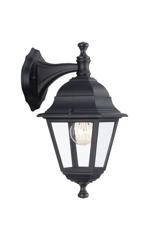 Nábytek Mano - Venkovní osvětlení E 27, 15cm (černá)