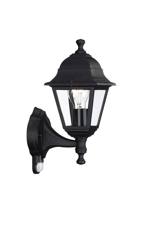 Nábytek Mano - Venkovní osvětlení E 27, 15x37,5x15 (černá)