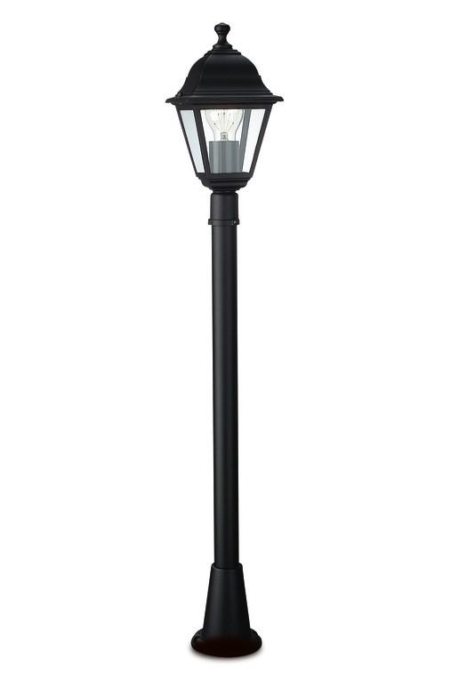 Nábytek Mano - Venkovní osvětlení E 27, 15x81x15 (černá)