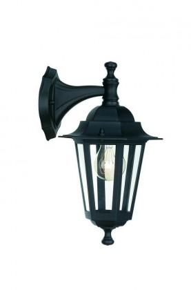 Nábytek Mano - Venkovní osvětlení E 27, 17,5cm (černá)