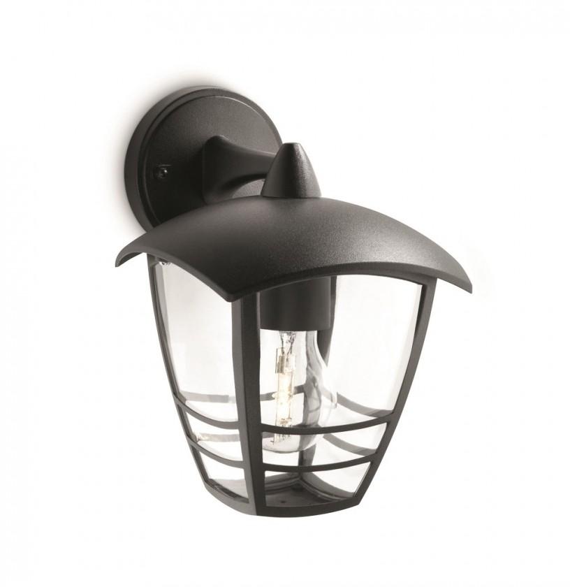 Nábytek Mano - Venkovní osvětlení E 27, 17,5x24x20 (černá)