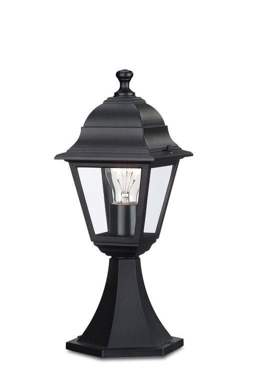 Nábytek Mano - Venkovní osvětlení E 27, 17,5x40x17,5 (černá)