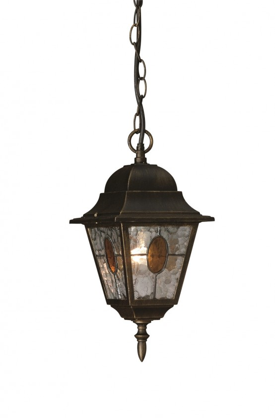 Nábytek Mano - Venkovní osvětlení E 27, 18cm (bronzová patina)
