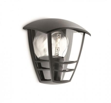 Nábytek Mano - Venkovní osvětlení E 27, 18cm (černá)