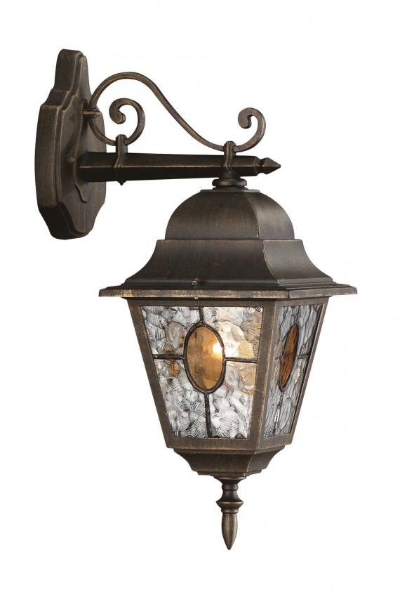 Nábytek Mano - Venkovní osvětlení E 27, 18x46x26 (bronzová patina)