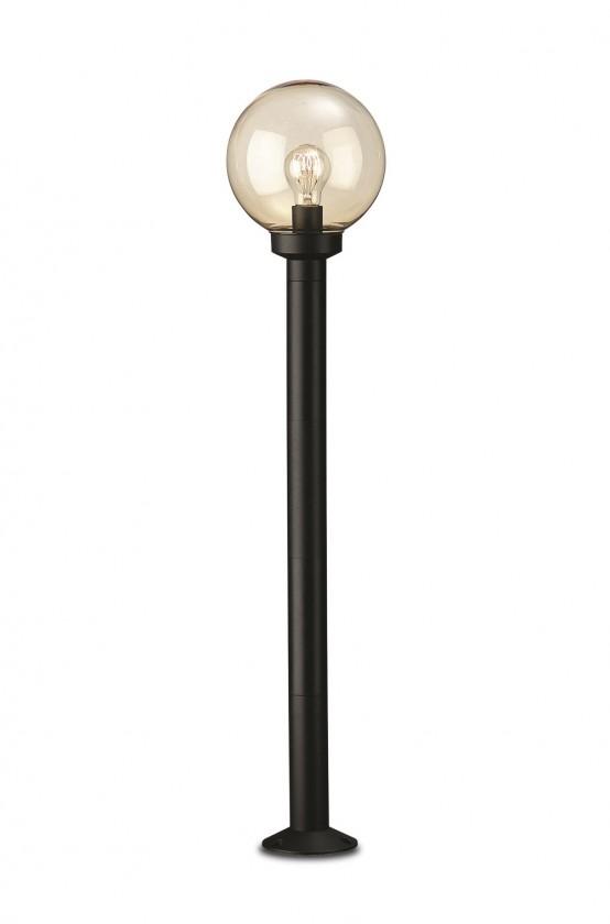 Nábytek Mano - Venkovní osvětlení E 27, 20cm (černá)