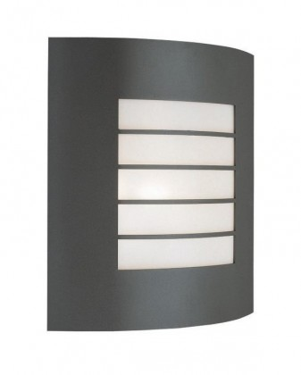 Nábytek Mano - Venkovní osvětlení E 27, 23,5cm (metalická šedá)