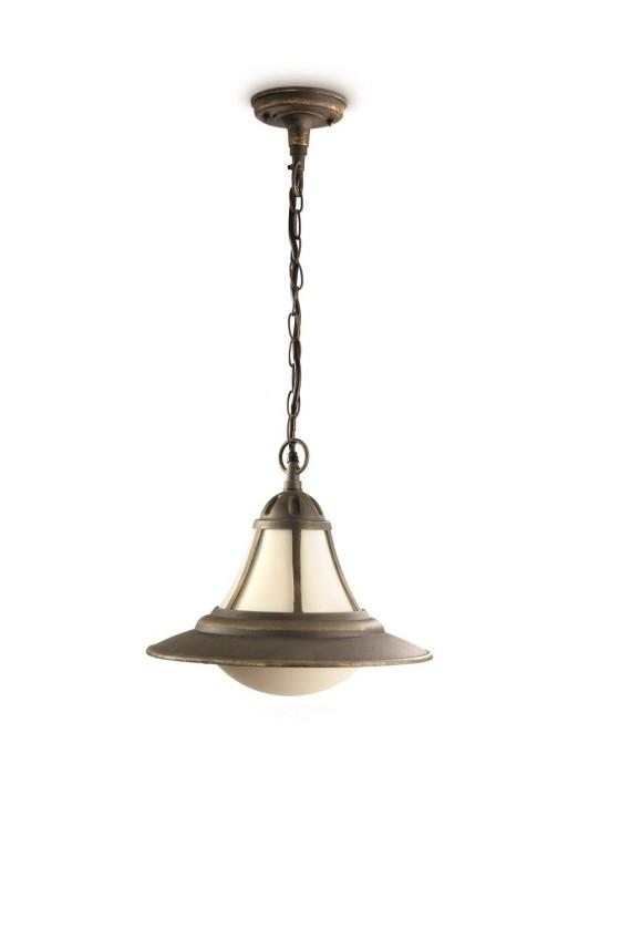 Nábytek Mano - Venkovní osvětlení E 27, 32cm (hnědá s bronzovou patinou)