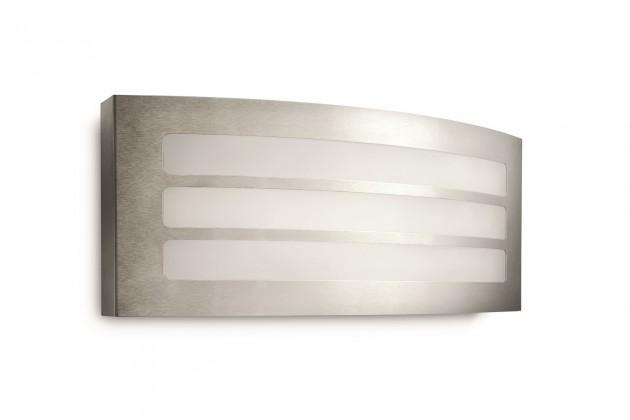 Nábytek Mano - Venkovní osvětlení E 27, 34,5cm (nerezová ocel)