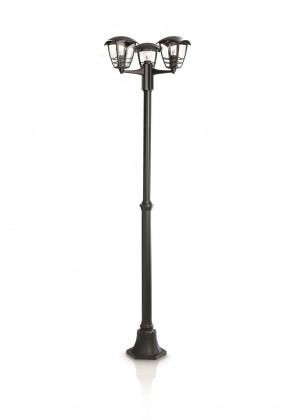 Nábytek Mano - Venkovní osvětlení E 27, 48cm (černá)