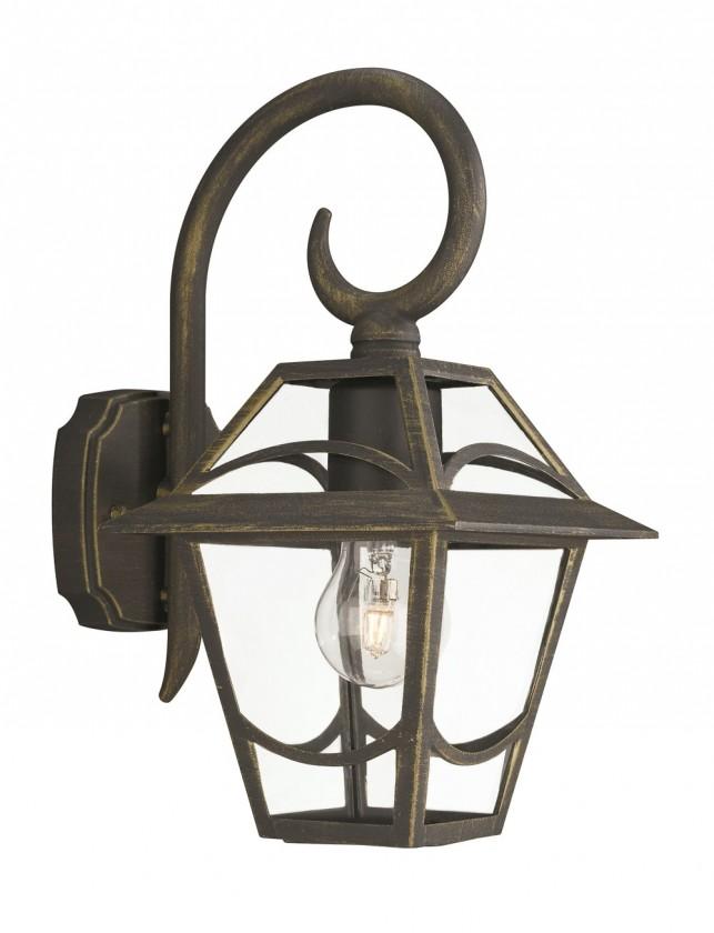 Nábytek Mano - Venkovní osvětlení E27, 17,3cm (zlatá patina)