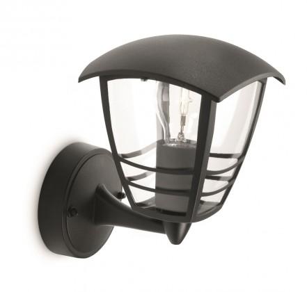 Nábytek Mano - Venkovní osvětlení E27, 17,5cm (černá)