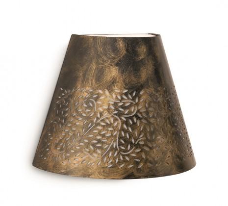 Nábytek Mano - Venkovní osvětlení E27,25,3cm (hnědá s bronzovou patinou)