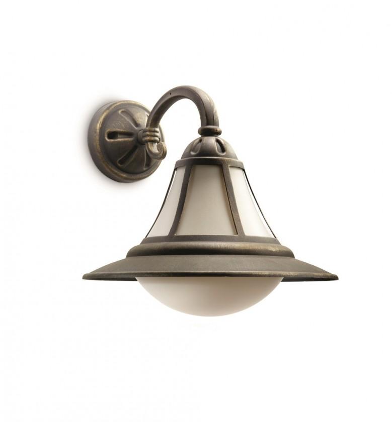 Nábytek Mano - Venkovní osvětlení E27,30,6cm (hnědá s bronzovou patinou)
