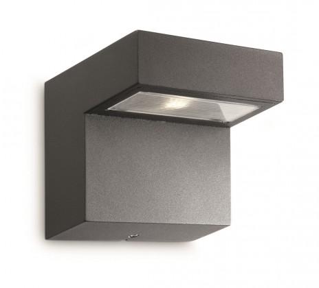 Nábytek Mano - Venkovní osvětlení LED, 12,4cm (antracit šedá)
