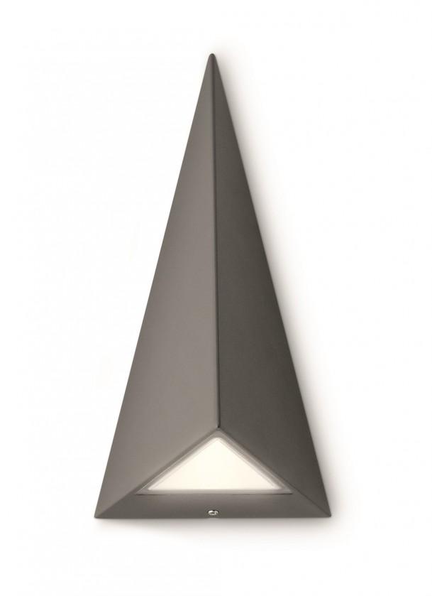 Nábytek Mano - Venkovní osvětlení LED, 12,8cm (antracit šedá)