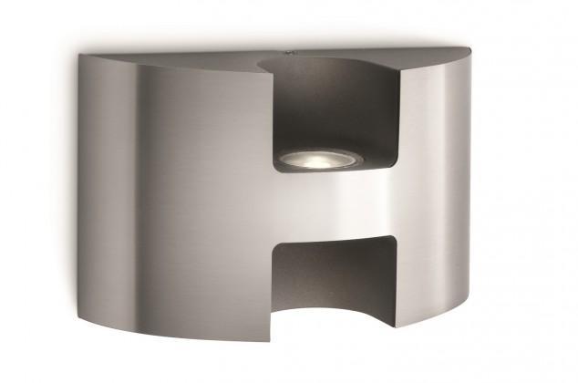 Nábytek Mano - Venkovní osvětlení LED, 17,4cm (matný chrom)