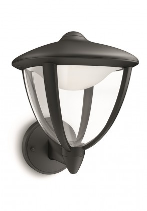 Nábytek Mano - Venkovní osvětlení LED, 17,4x24x20 (černá)