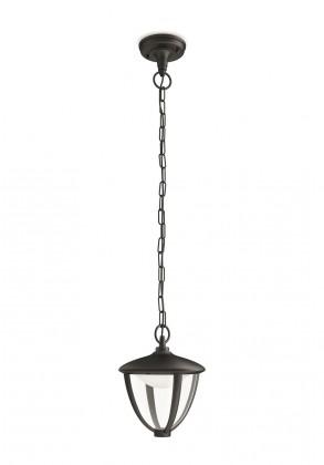 Nábytek Mano - Venkovní osvětlení LED, 17,4x87,2x17,4 (černá)
