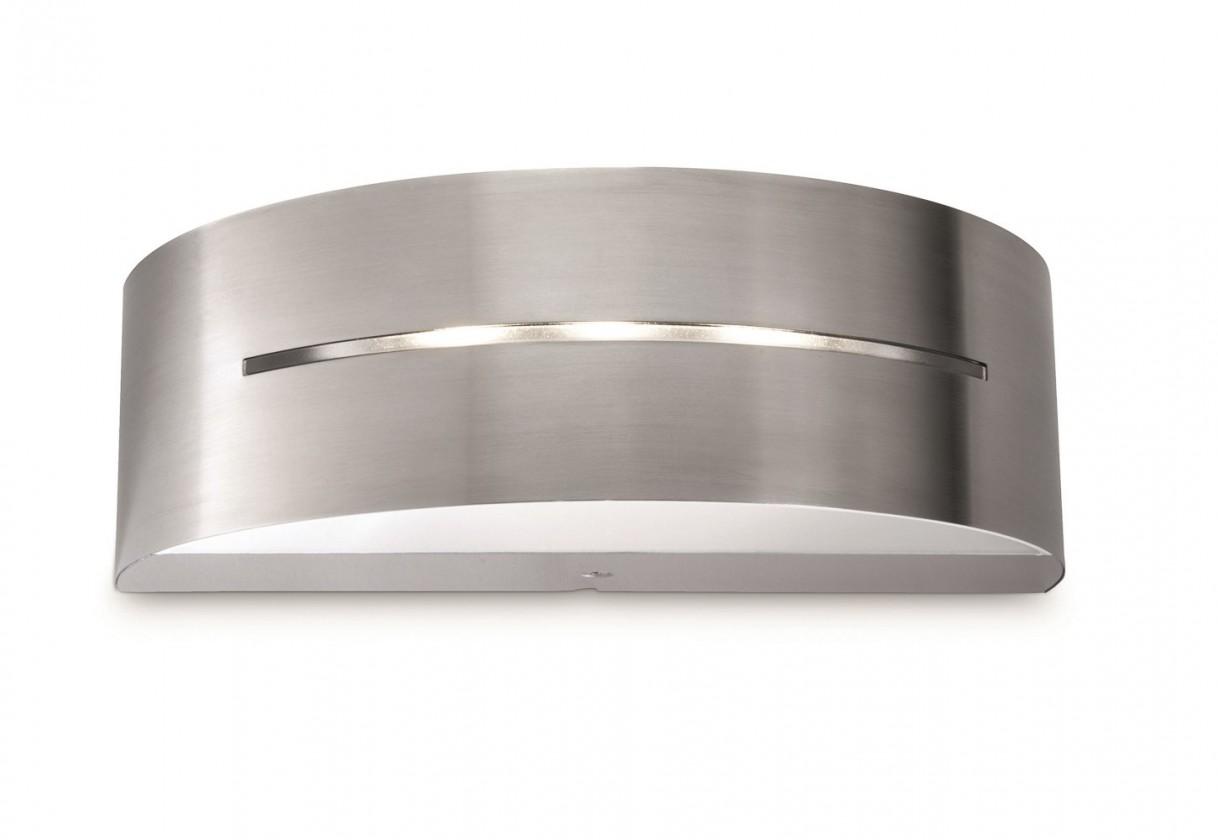 Nábytek Mano - Venkovní osvětlení LED, 20,5cm (nerezová ocel)