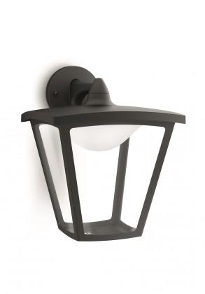 Nábytek Mano - Venkovní osvětlení LED, 21,9x28,3x25 (černá)
