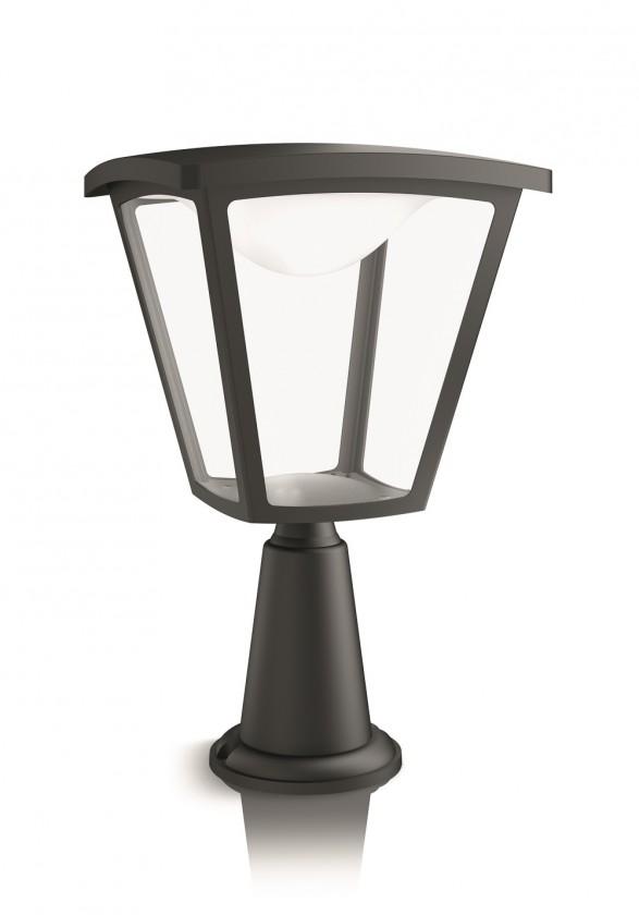Nábytek Mano - Venkovní osvětlení LED, 21,9x36,5x21,9 (černá)