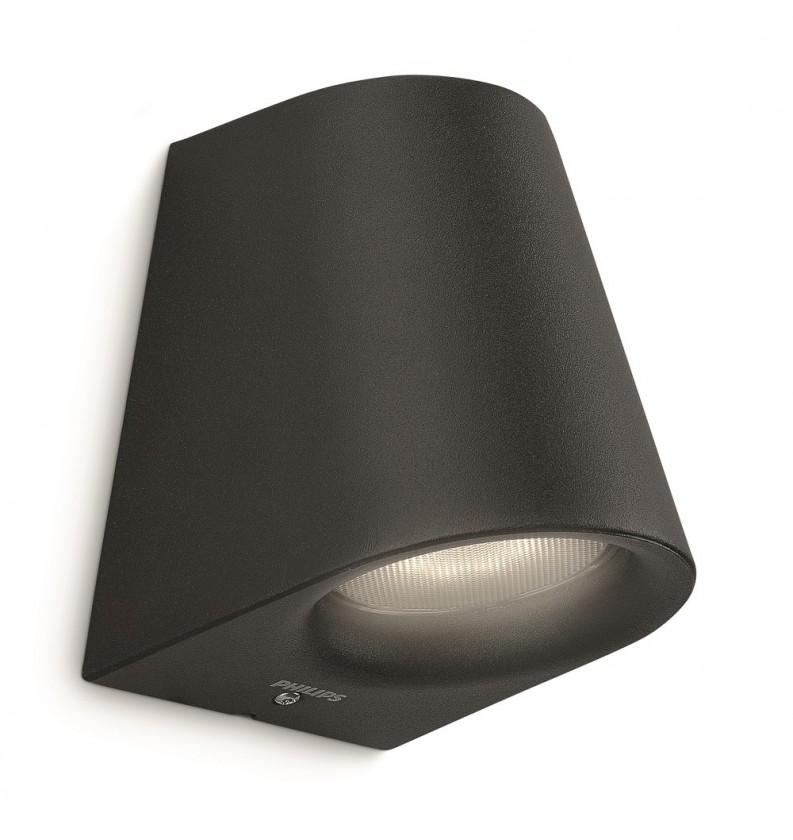 Nábytek Mano - Venkovní osvětlení LED, 9,2cm (černá)
