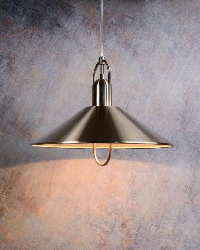 Nábytek Marco - stropní osvětlení, 20W, E14 (stříbrná)
