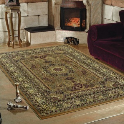 Nábytek Marrakesh - koberec, 150x80cm (100%PP heatset, orient, béžová)